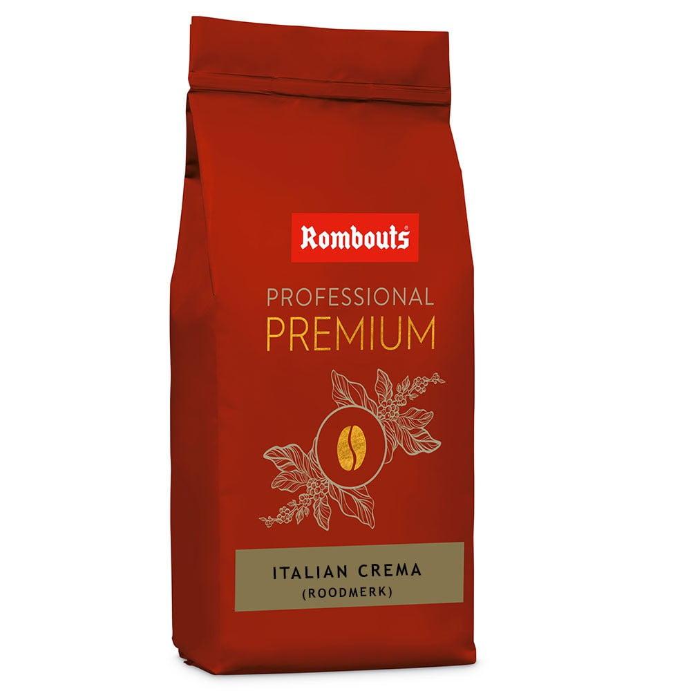 Rombouts Italian Crema Roodmerk 1kg