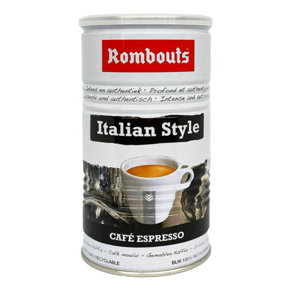 Rombouts Italian Style 500g Ground Coffee