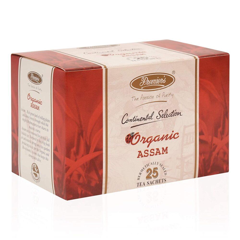 Premiers Organic Assam Tea 50gRombouts